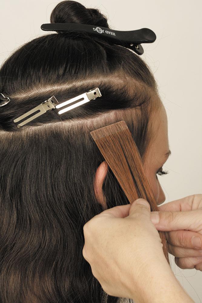 Rapture Hair Extensions Step 1