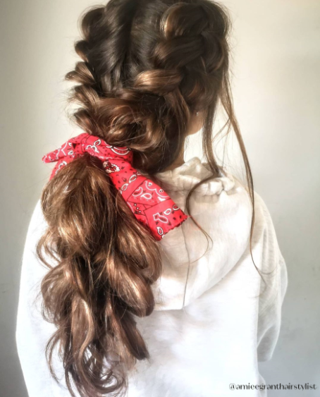 Creative: Watch Educator Amiee style a full head of Rapture Hair Extensions